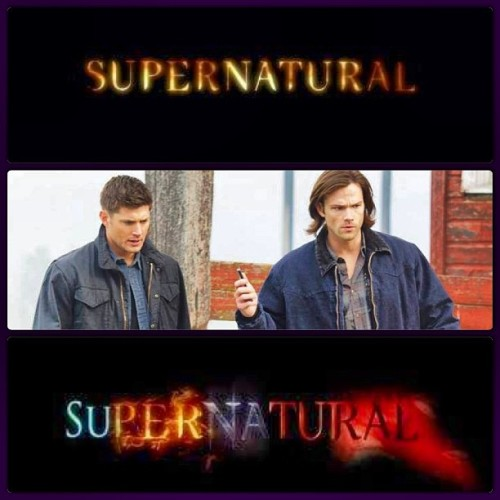 #WinchesterWednesday  #SamAndDean #Supernatural season finale tonight.