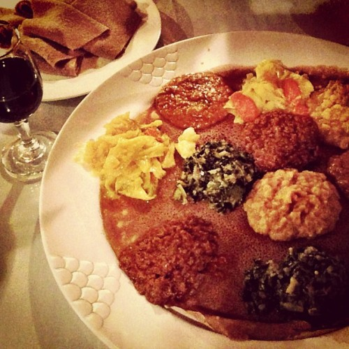 The. Best. (at Rosalind's Ethiopian Restaurant)