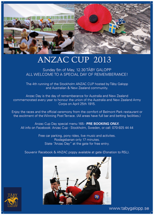 Anzac Cup 2013Anzac Cup 2013View Post