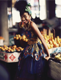 beautyisdiverse:  (via Sharleen Dziire - Elle South Africa January 2013 | Beauty Is Diverse ™)