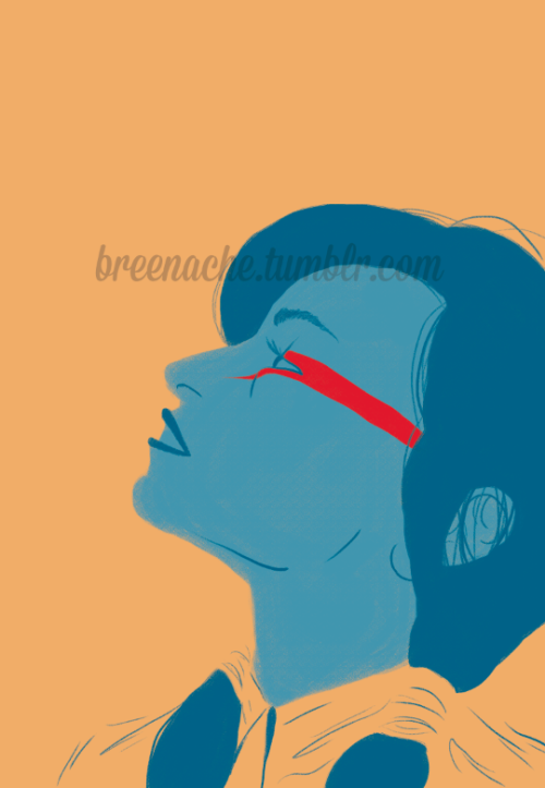 breenache:  My second piece in a mini project of my favorite female performers. Lines are just so sexeh!  I love your lines hon