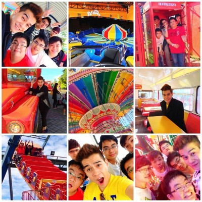 Rise & shine Genting Highlands! 🎢 (at First World Outdoor Theme Park)