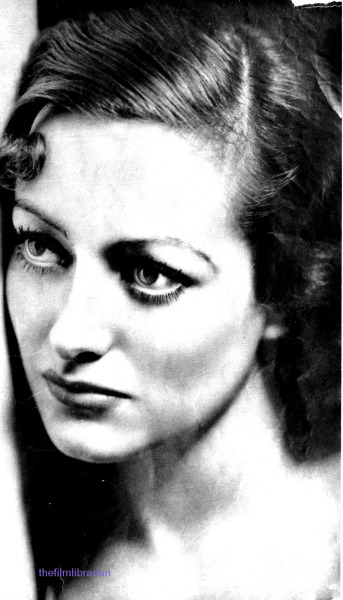 Joan Crawford, Up close and personal