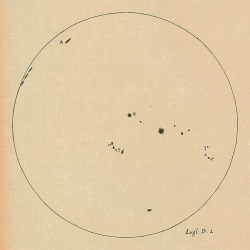 loverofbeauty:  Galileo's Sunspot Drawings. (speciesbarocus)