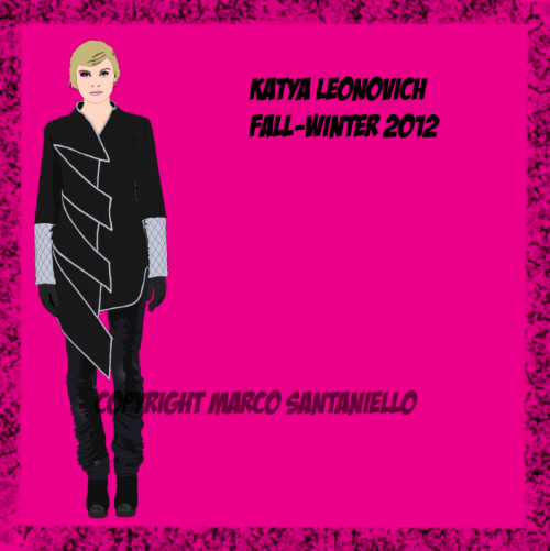 FASHION POP BOX N.39 KATYA LEONOVICH FALL WINTER 2012   GRAPHIC BY SUPERSTAR MARCO SANTANIELLO
