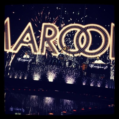 Maroon 5. Staples Center
