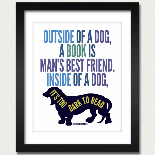 for all my dog + book loving friends. [found on etsy]