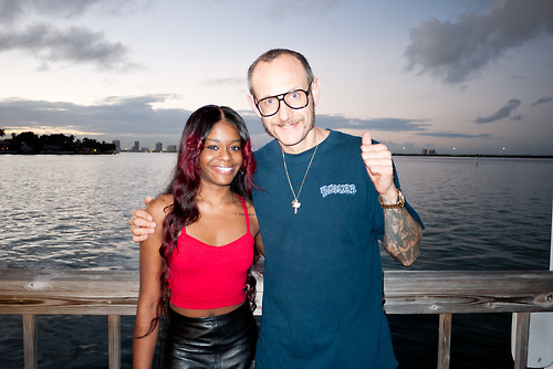Me and Azealia Banks at the Standard Hotel before the party