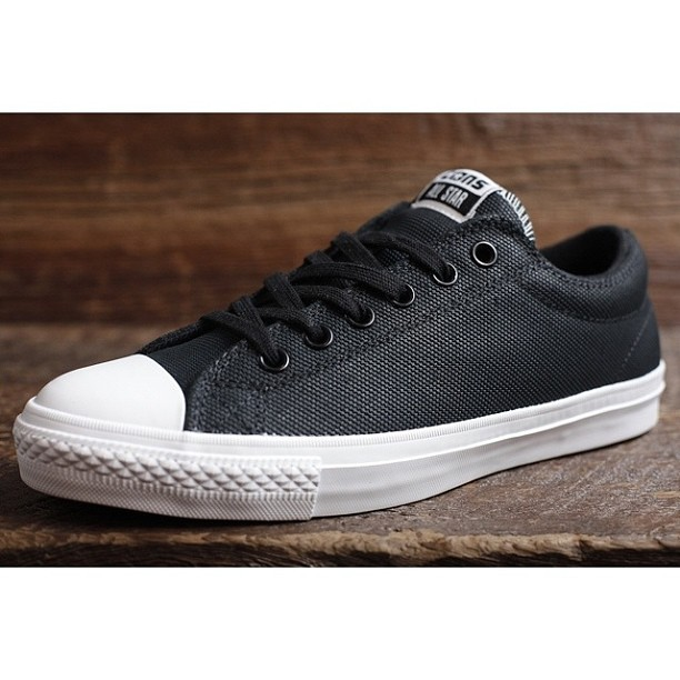 aliveandwellsea:  Converse Skateboarding has released another great CTS with Lunarlon insole & Black abrasion tough canvas #cts @converse #skate #chucks