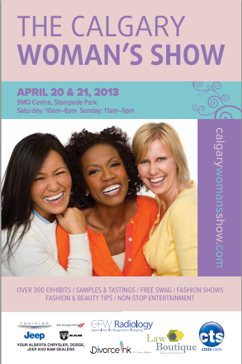 Calgary Women's Show Spring 2013  Don't forget to pencil the Calgary Women's Show in your calendar this weekend. Do come by Swoon's booth to say hi and check out all the new spring arrivals and the great end-of-season deals!! xoxo