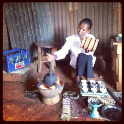 A coffee ceremony in Borana. #cultureofcoffee #thecoffeetour #ethiopia