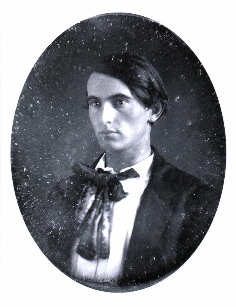 Lew Wallace, c. 1853, in his mid-twenties. Union general, governor of New Mexico territory, diplomat to the Ottoman Empire, where he gathered material for the bestselling Ben-Hur (which Ulysses S. Grant reportedly read in a single 30-hour sitting.) From the submitter cmcdwh:     This handsome fellow is my great-great-grandfather, Lew Wallace, around 1853. The daguerreotype was taken around 1853 and is owned by the General Lew Wallace Study in Crawfordsville, Indiana. By the time he was a Major-General in the Civil War, Lew had grown an impressive beard, but I like him better this way. Lew sat on the military tribunal that tried another daguerreotype boyfriend, Lewis Thornton Powell. [Ed: Gasp!]