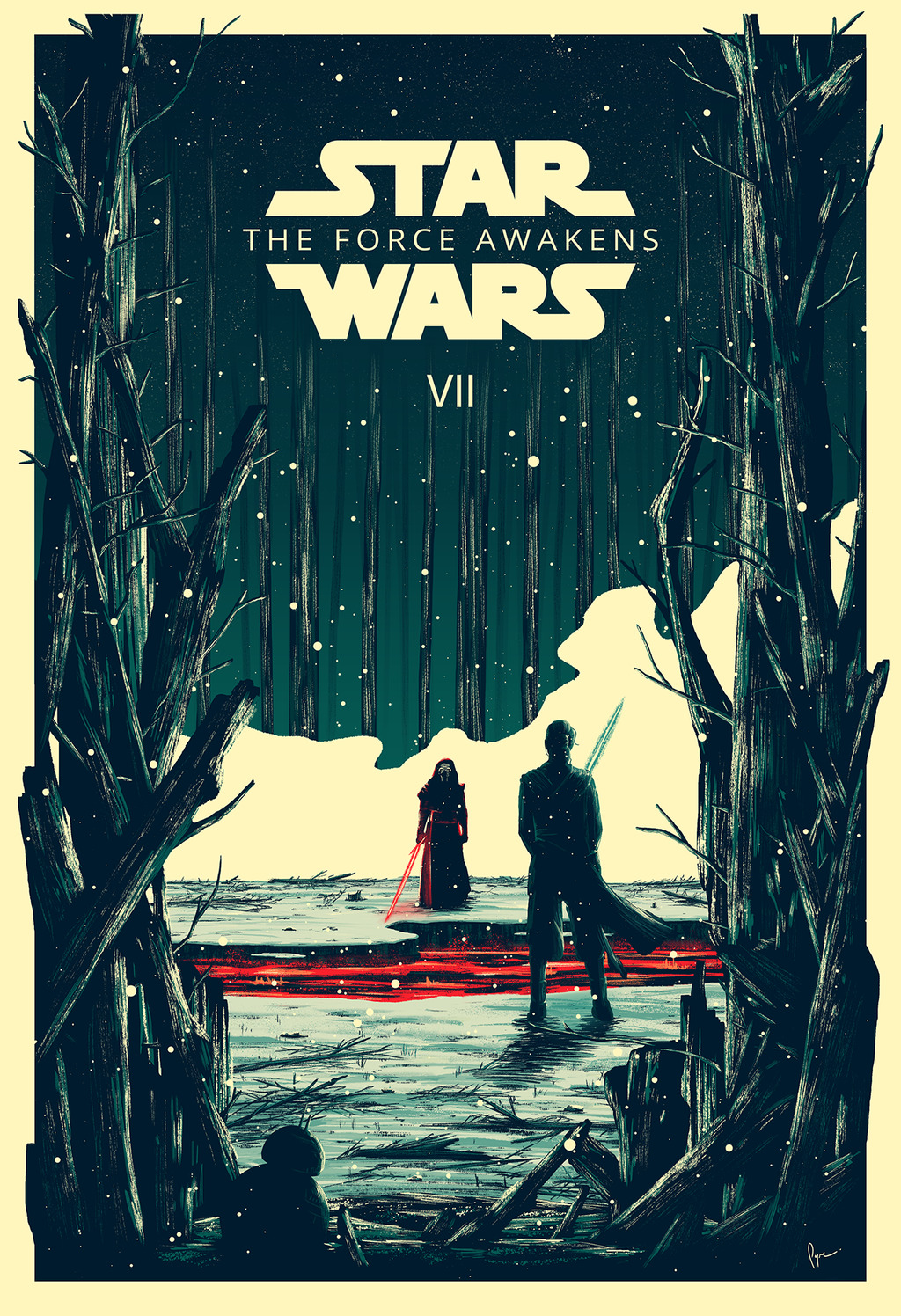 Star Wars VII: The Force Awakens by Derek Payne
