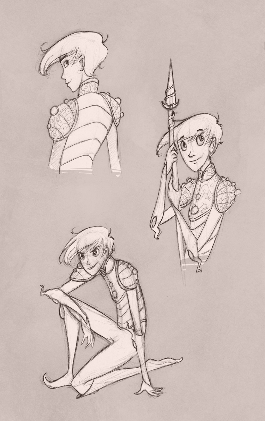 twilightsaphir:  GUARDIANS OF CHILDHOOD - NIGHLIGHT SKETCHES I felt like doodling a bit today. But then my pencil slipped and I Nightlight'd again. I am sorry.