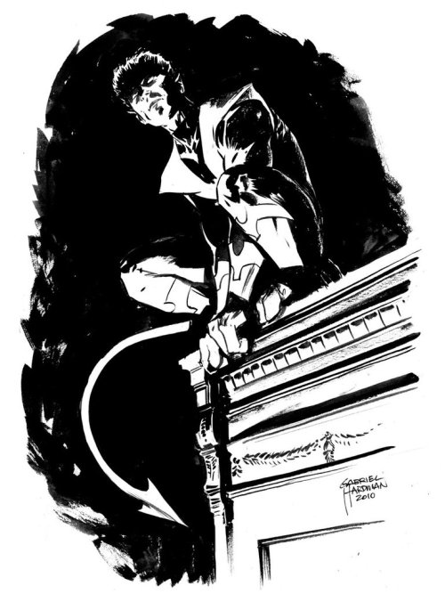 astonishingx:  Nightcrawler by Gabriel Hardman