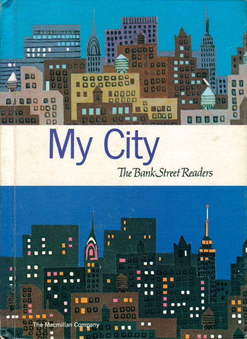 newhousebooks: Cover of My City, 1965. Macmillian.