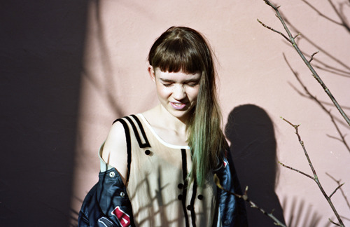 seli8:  Grimes by Michelle Fort, January 2012.