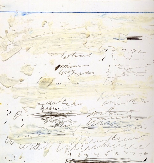 Cy Twombly, Five Poems to the Sea (1959)