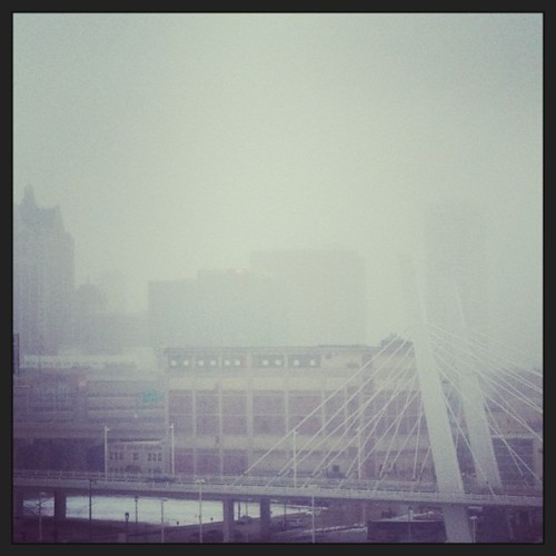 Foggy #milwaukee!