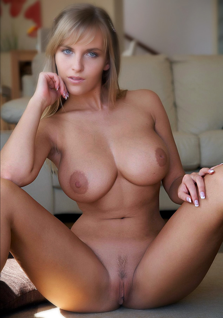 Hot busty blonde milf