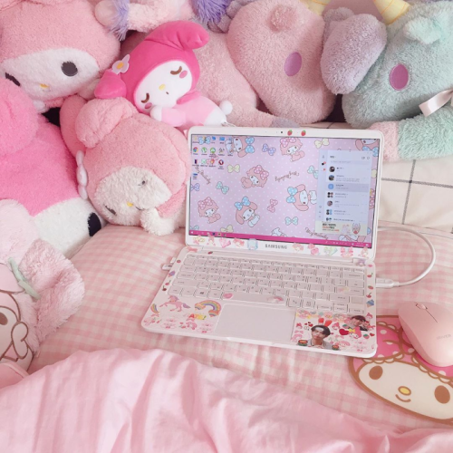 meltyparfait: @mymelomin #my melody#sanrio#plushies