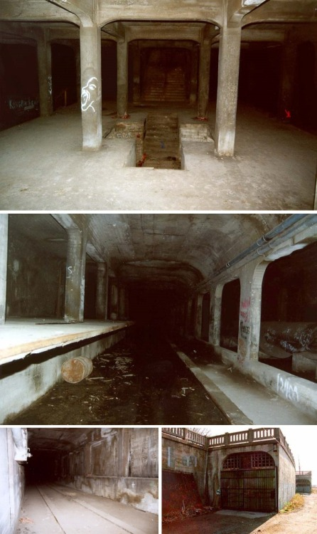 ducklingking:  purogallopinto:  abandonthehalls:  Cincinnati's Forgotten Subway System  Cincy had a subway system?  DO NOT GO IN THERE. You can be jailed for going into the subway system. They have cameras everywhere outside of it. Plus, it's extremely dangerous as a lot of the electrical was never shut off and there are high levels of gases down there that can be lethal if breathed in.  No matter how cool it looks, DON'T GO IN.