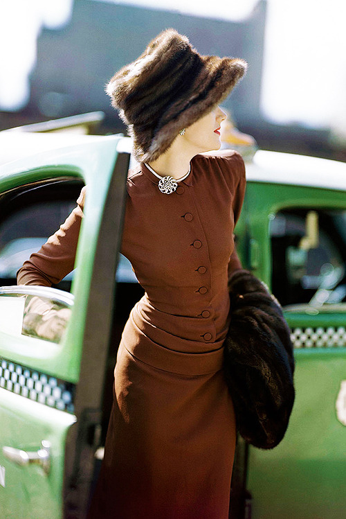 Vogue, 1945. Photo by Constantin Joffé