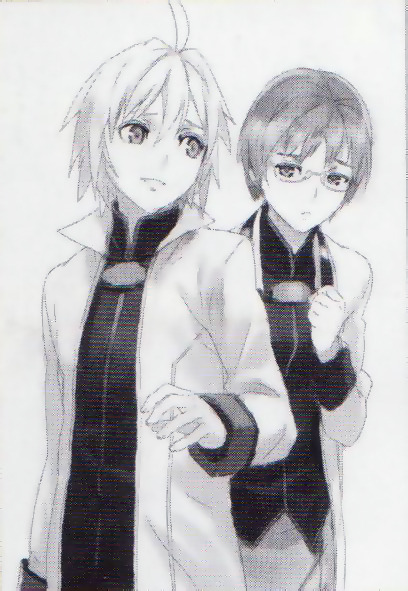 talesofsaku:   Another picture from the novel. Once again, the quality is bad because they are tiny pictures in the magazine. I just think they are worth seeing or in case no one has seen them before. :> Here's another too but it's even smaller: