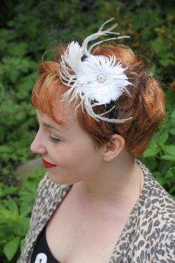 couturebymay:  Handmade headbands for those who like a vintage twist.  www.etsy.com/shop/couturebymay