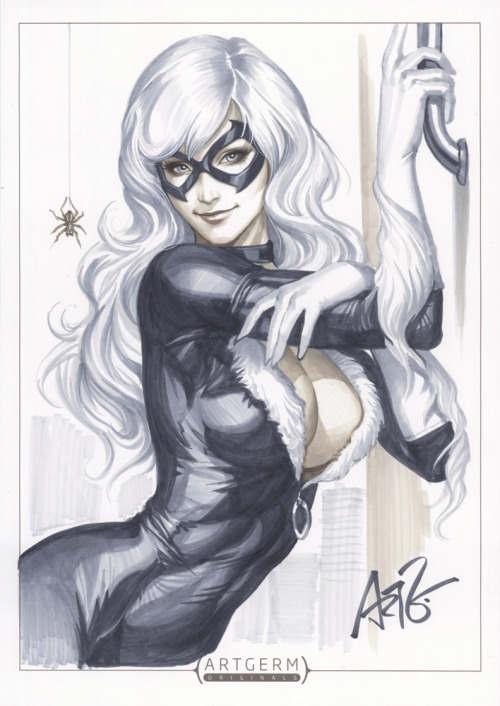 Black Cat by `artgerm