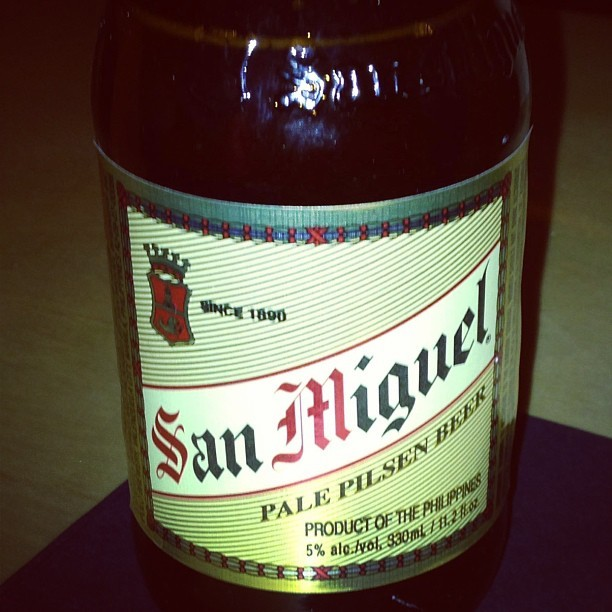 Hello old friend, it has been awhile #TGIF #mabuhay #drinkporn #filipino #beer (at Pig and Khao)
