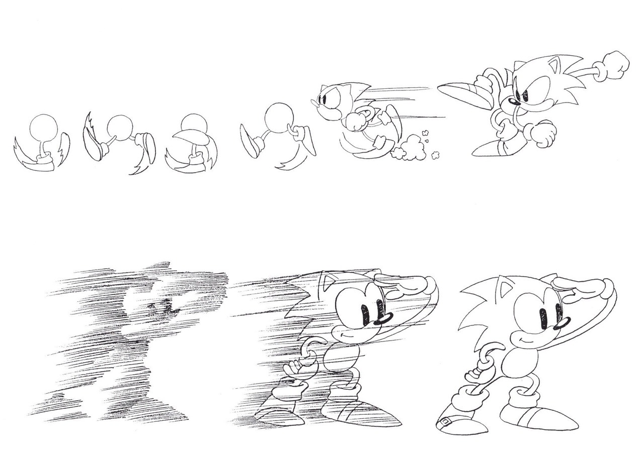 Tales From Weirdland Concept Art For The Original Sonic The Hedgehog