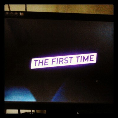 Lets have a break #TheFirstTime #movie