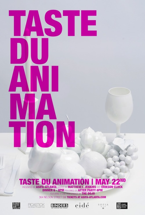 COMING SOON TASTE DU ANIMATION MAY 22ND GET TICKETS NOW