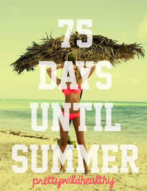 ☼✌ 75 days until Summer 2013 ✌☼