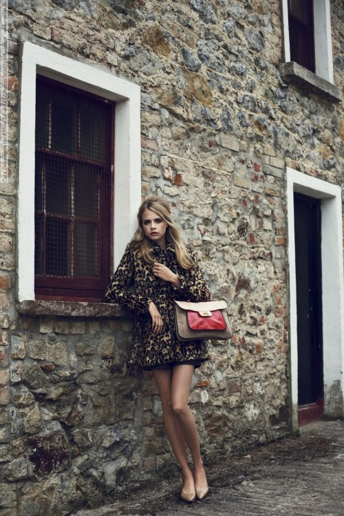 celebsvenue:  Cara Delevingne for AWear Lifestyle (Autumn 2010) photo shoot (10 HQ pictures)