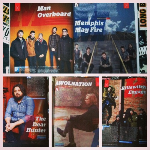 AP 295 Most Anticipated Music of 2013 also features #manoverboard #memphismayfire #thedearhunter #awolnation #killswitchengage Grab your copy in stores before Friday or order online!