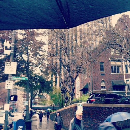Walking around, enjoying the #rainy side of #Seattle. :)