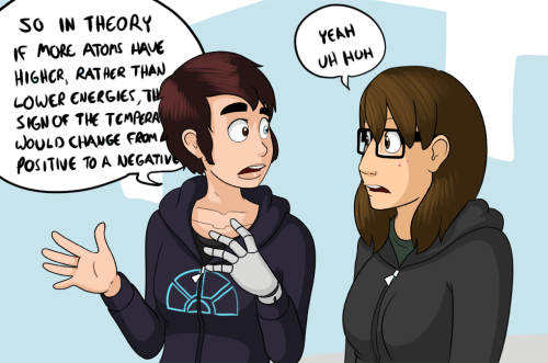 jephjacques:   Kim and Marigold are beep-boop pals   I approve.