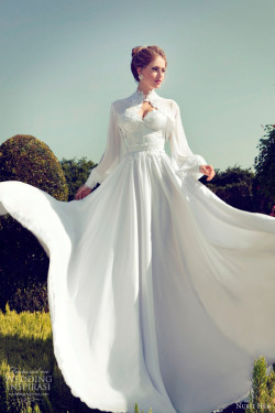awesomeweddingdresses:   http://www.weddinginspirasi.com/2013/04/22/nurit-hen-wedding-dresses-2013/