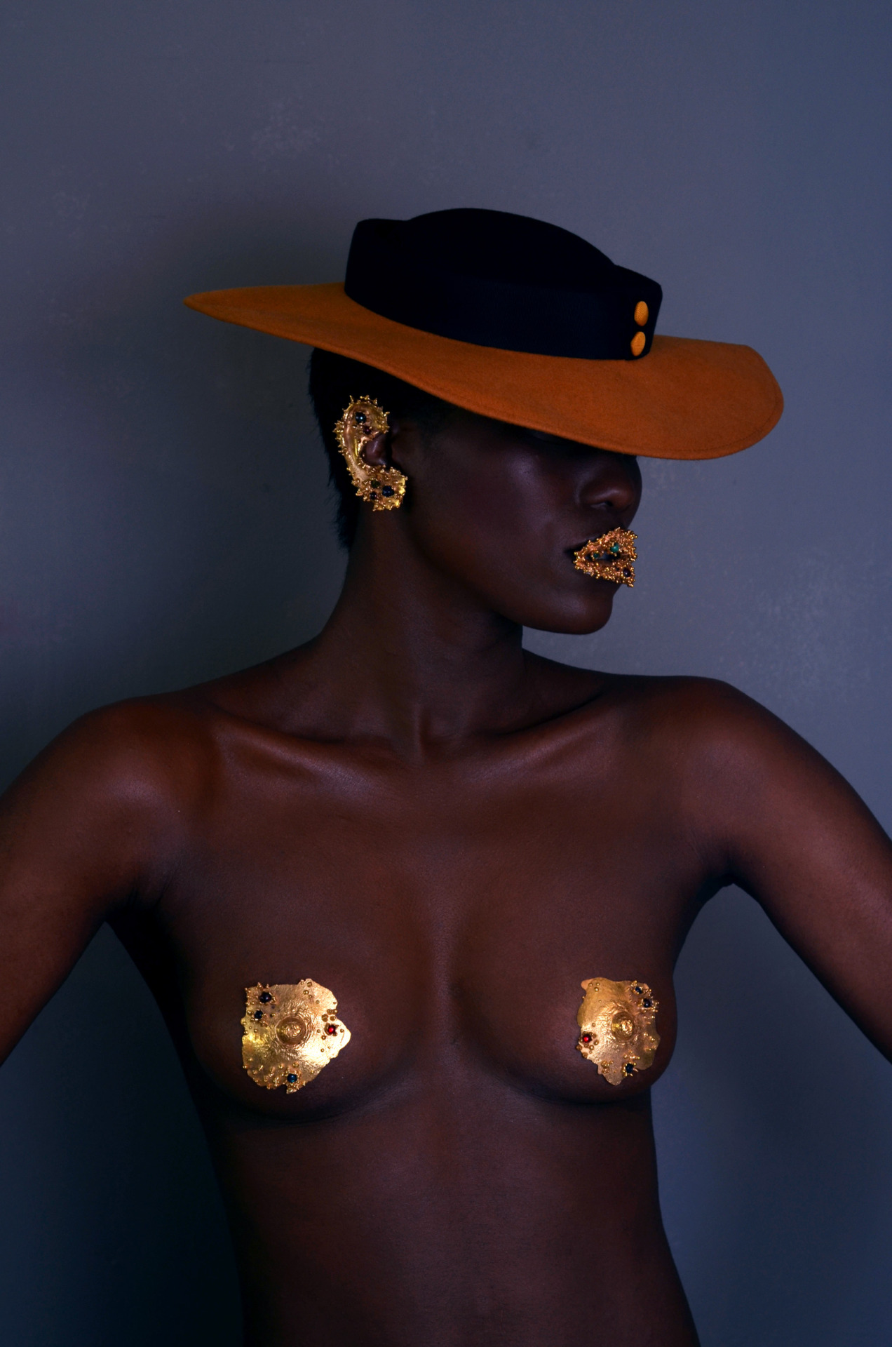 blackfashion:  Model: Denise Manning, Make Up : Alexa DelaRosa, Jewellery: Rebecca Onyett Photographer Marcus Hessenberg marcushessenberg.com