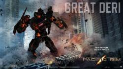 Go Big or Go Extinct!!!! Oh I can't wait this movie!! By The way this Jaeger Designer app is interresting!!!, But, careful with your internet's quota, this site is a heavy one.