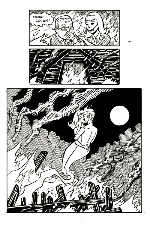 chasingcomics:  The Man Who Lives Alone My Intro to Comics final about ghosts and love.