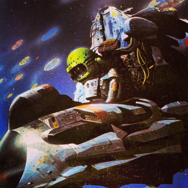 70s Sci Fi Art Chris Foss: 70s Sci-Fi Art