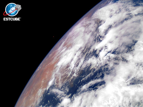 knowledgethroughscience:  Satellite ESTCube-1's first image from the orbit of the Earth.