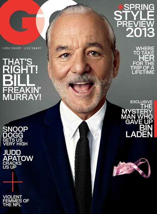 Don't swallow, Bill Murray.