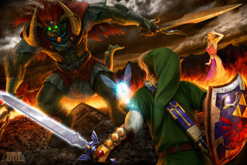 badasszelda:  The Final Battle.