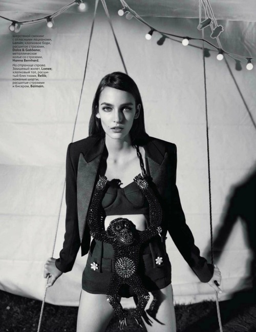 Zuzanna Bijoch by Richard Bush for Vogue Russia March 2012