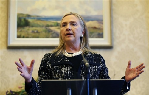 Hillary Clinton faints, recovering at home (Photo: Kevin Lamarque / Reuters, file) Secretary of State Hillary Clinton fainted and suffered a concussion after becoming dehydrated because of a stomach virus, the State Department said Saturday. Read the complete story.