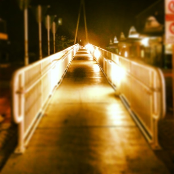 Like a bridge. #ios #iphone5 #iphoneonly #igers #igersperth #igerspinoy #igersmandurah #instagram #instagramhdr #instagramers #instagramtastic #iphonography #iphoneography #iphoneographer #bridge #filtered #nightshot #lights